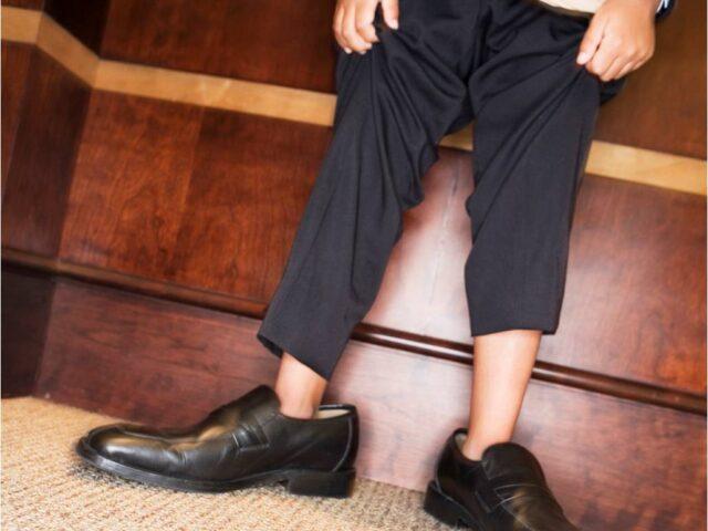 In andermans schoenen
